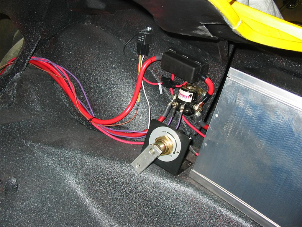 1973 Camaro Lt Car Wiring Harness Bulkhead Grommet I Ran The Large Starter Wire And Solenoid Activation Through Used A Fitting For Smaller